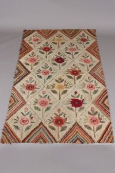 Two Hooked Rugs, 19th/ 20th Century