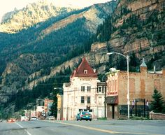 ONe of my favorite places, I've been 3 times, Ouray is also known as The Switzerland of the USA.  People come from all over the world to climb the frozen Waterfalls which are in the city, RIGHT IN THE MIDDLE OF TOWN!