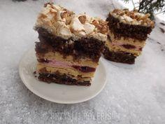 Ciasto wiśniowy zachwyt Tiramisu, Food And Drink, Ethnic Recipes, Cakes, Gourd, Kuchen, Torte, Cake, Cookies
