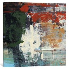 East Urban Home Urban Space by Irena Orlov Painting Print on Wrapped Canvas Size: