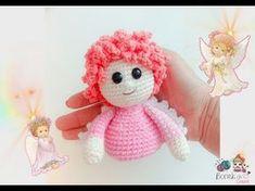 Passo a passo Boneca de Crochê . Como fazer a Cabeça até os ombros sem costuras (Passo 1) - YouTube Crochet Stitches, Crochet Patterns, Amigurumi Tutorial, Amigurumi Doll, Crochet Clothes, Crochet Baby, Lana, Diy And Crafts, Hello Kitty