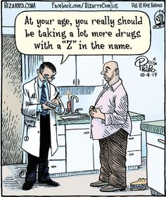 Home of Bizarro by Dan Piraro, a single-panel comic strip making people laugh for over 30 years. Haha Funny, You Funny, Funny Art, Funny Things, Funny Stuff, Pharmacy Humor, Medical Humor, Adult Cartoons, Funny Cartoons