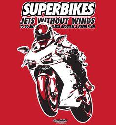 Superbikes T-Shirt — SportBike T-Shirts Store $19.99