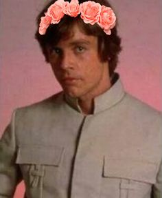 Flower Power II  Luke Skywalker style