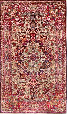 View this breathtaking Silk Kerman Rug by Master Aboul Ghasem Kermani. This beautiful rug is available at the Nazmiyal Collection in New York City.