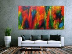 Abstraktes Acrylbild modern Großformat 200x100cm von xxl-art.de