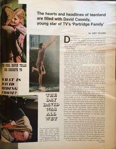 David Cassidy, LIFE October 29, 1971. 3 of 5