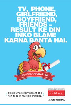 #CBSEresults announcement day often becomes a ranting day for parents.#UnformalChatter