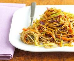 Soba noodles, made from buckwheat, have a nutty flavor. find them in specialty or asian markets. they add a hearty flavor to this broccoli and carrot side dish. toss in cooked chicken for a quick dinner idea.