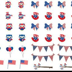 It's #2brewtuesday at Coffee Break Planner and today we have patriotic owls for you. Happy shopping! !