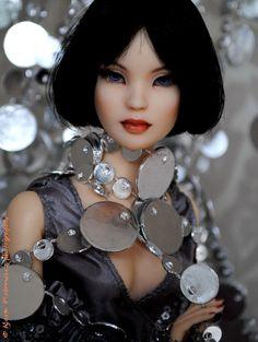 Suri - BJD Cinderella (Lady G) [Tonner Doll] repainted by Eff