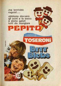 Gelati Pepito Toseroni, Italian Vintage Gelato