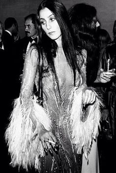 Cher and her Bob Mackie gowns.  O, O, O. Check out our spooky sale and get 25% off. www.shelbymason.com #bootights #sexyspooky