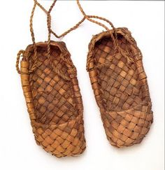 Pastalas, home made moccasins, also found all over Eastern Europe in various forms, [btw, either of these are sometimes referred to as 'sandals', which is very misleading, what we think of as 'sandals' are not a traditional part of footwear anywhere in Europe