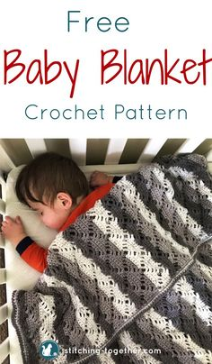 Gorgeous, gender neutral baby blanket. Make this modern baby blanket sure to be cherished. Free crochet pattern using premier yarn Sweet rolls and the Diamond lace stitch. #crochetbabyblanket #babyblanket #crochetbaby #crochetblanket #sweetroll