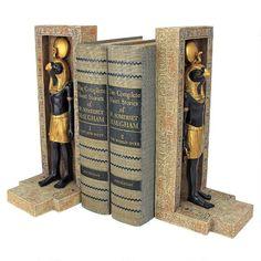 Horus Sculptural Bookend Set