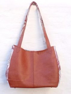 de Tote Bag, Leather Working, Bags, Style, Inspiration, Fashion, Budget, Fabric Bags, Fabrics