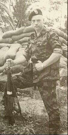 Larry Thorne (Lauri Törni) in Vietnam, serving with the 5th Special Forces Group (Green Berets/Airborne) sometime in early 1965, before his transfer to MACV-SOG. Pin by Paolo Marzioli