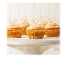 Pretty Monogram Cupcakes Picture