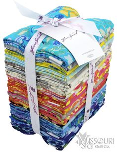 The Painted Garden Fat Quarter Bundle from Missouri Star Quilt Co