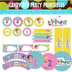 Lalaloopsy Printable Kit | Kidz Party Supplies