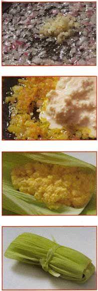 Humitas de choclo saladas (Porciones: 10)