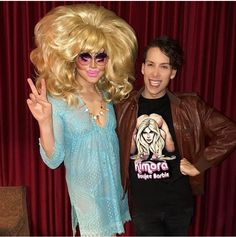 Trixie and Alaska in boy drag Baby Queen, I Am A Queen, Brian Firkus, Farrah Moan, Alaska Thunderfuck, Rupaul Drag Queen, King Club, Trixie And Katya, Awkward Photos