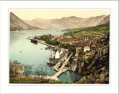 cattaro, dalmazia, ca. 1890, photochrome, library of congress