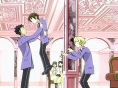 Ouran High School Host Club: I don't know about anybody else, but I fell in love with Mori here... That quiet, unassuming loyalty and good heartedness that compells him to react instantly  to the cries of a person in need... Wow... just, wow...