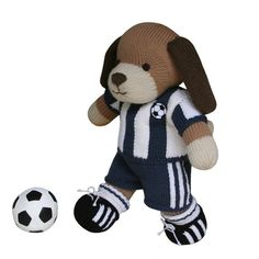 Football Kit  Knit a Teddy