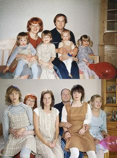 PHOTO PROJECT: Four Sisters Recreate Childhood Photos Taken Decades Ago