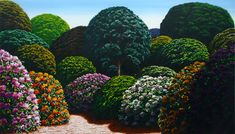 Master Of Fine Arts, Saatchi Gallery, Luminous Colours, Beneath The Surface, Language Of Flowers, Kiwi, Garden Art, Outdoor Spaces, Galleries