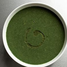 """Basic Green Soup Recipe. I made this a couple days ago and it was amazing! Even my family members who don't eat  """"green things"""" liked it! It resembles the taste and texture of cream of potato soup."""