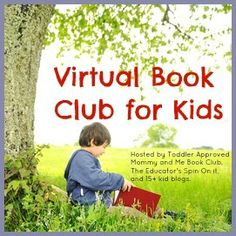 Virtual Book Club for toddlers.  Different author and activities for each month.