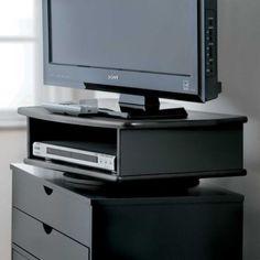 "TV DVD Swivel Stand - 23 3/4""W x 15"" D x 6 1/2"" H, inside is 18"" W x 4 1/2"" H - #350417 - 69.99"