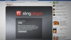SlingPlayer for Facebook