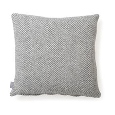 Woven from a mix of soft merino wool and luxurious cashmere, this cushion provides a comforting piece of decoration to the living space. Red toned threads ranging from bright orange to baby pink are woven into a classic herringbone pattern, with Contemporary Cushions, Modern Cushions, Luxury Cushions, Colourful Cushions, Living Room Lounge, Living Spaces, Lounge Decor, Palette, Fabric Textures