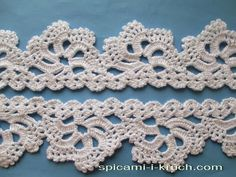 Irina: Crochet LACE. Step-by-step LESSON. Pattern.