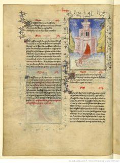 L'Epistre Othea à Hector, fol Bnf, Medieval, Bullet Journal, Underwear, Books, Alphabet, Pictogram, Libros, Book