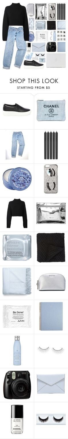 """""""♡;; we are stars"""" by starshipsx4 ❤ liked on Polyvore featuring Steve Madden, Chanel, Tom Dixon, The Body Shop, Chiara Ferragni, DKNY, Monki, This Works, Morgan Collection and Acne Studios"""