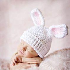 Crochet easter hat