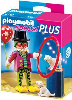 Mitgebsel: PLAYMOBIL 4760 - Clown mit Hundedressur: Amazon.de: Spielzeug