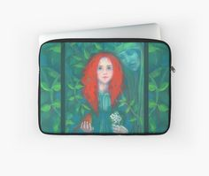 """""""Child of the forest"""" Laptop Sleeves by clipsocallipso   Redbubble"""