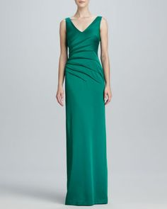 Sleeveless Sheath Gown by David Meister at Neiman Marcus.  Original:$570.00 NOW: $199.00