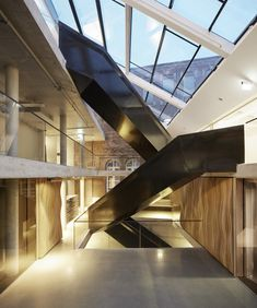 Nedregate Culture District, Oslo, Norway by Space Group – Architecture Lab Architecture Design, Cabinet D Architecture, Building Architecture, Design Room, House Design, Design Design, Interior Stairs, Interior And Exterior, Interior Ideas