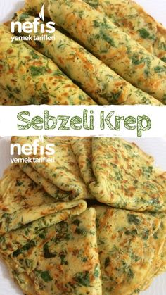 kişinin defterindeki Sebzeli Krep T… How to make Vegetable Pancakes Recipe? Here is the illustrated description of Vegetable Pancakes Recipe in the book of people and photos of the experimenters. Vegetable Recipes, Copycat Recipes, Pizza Recipes, Vegetarian Recipes, Pancake Recipes, Yummy Recipes, Vegetable Pancakes, Turkish Recipes, Recipes