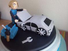 Mechaniker Geburtstagstorte