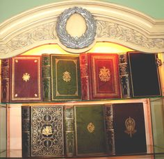 Beautiful Rare Books | Rare Antique Books ? Beautiful Leather Library Set ? Home Decorator ...