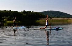 Paddle Board Yoga Floats Into Lehigh Valley