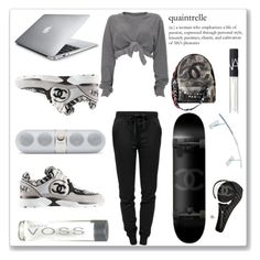 """""""Leisure Time!"""" by bella-danielle-mia ❤ liked on Polyvore featuring T By Alexander Wang, Chanel, Ashish, NARS Cosmetics, stylish and polyvoreeditorial"""